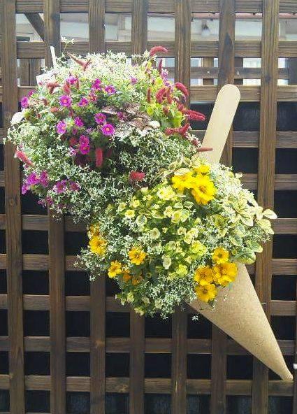 花のアイスクリーム