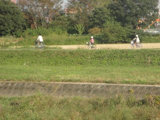子供サイクリング