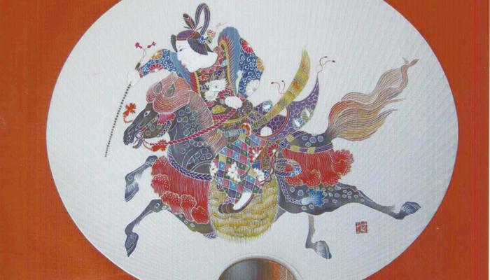 普段は公開しておりませんが、アートフェスティバルに10/13(日)14(月)の2日間、友禅の工程と作品を見ていただければ幸いです。