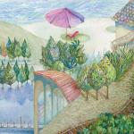 宮坂恵子 絵画という不可思議なものに心を寄せて…。この世界、皆様にはどううつるのでしょうか?